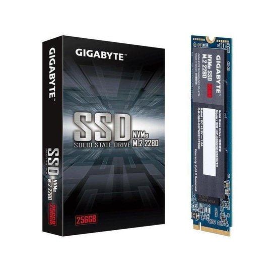 SSD Gigabyte 256GB NVMe 1.3 M.2 2280 - Azul