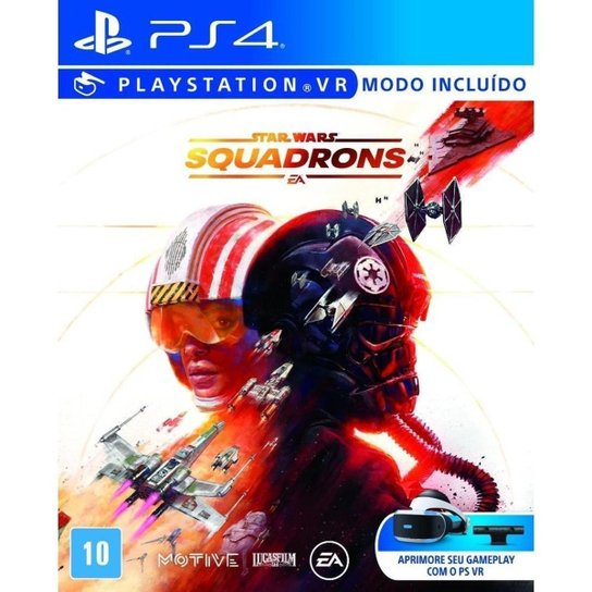 Star Wars Squadrons Br - PS4 - Incolor