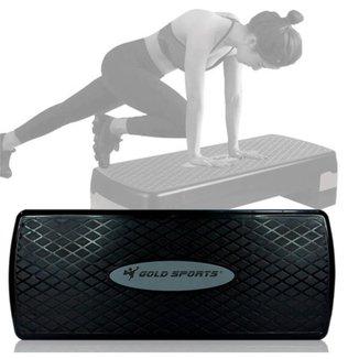 Step Gold Sports Academia Exercicios Pro Ajustavel