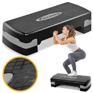 Step Gold Sports Academia Exercicios ProII Ajustavel