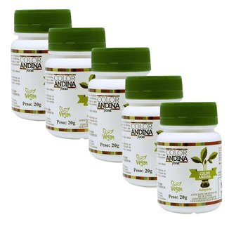 Stevia Color Andina 5 un - 20g Adoçante 100%natural Original