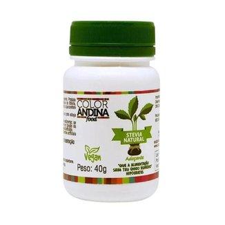 Stevia Color Andina Food - 40g Adoçante 100%natural Original