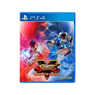 Street Fighter V Champion Edition para PS4 Capcom