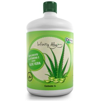 Suco De Babosa Aloe Vera Com Vitamina C 1L Infinity
