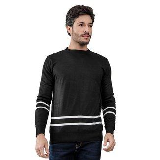 Suéter Masculino Listras