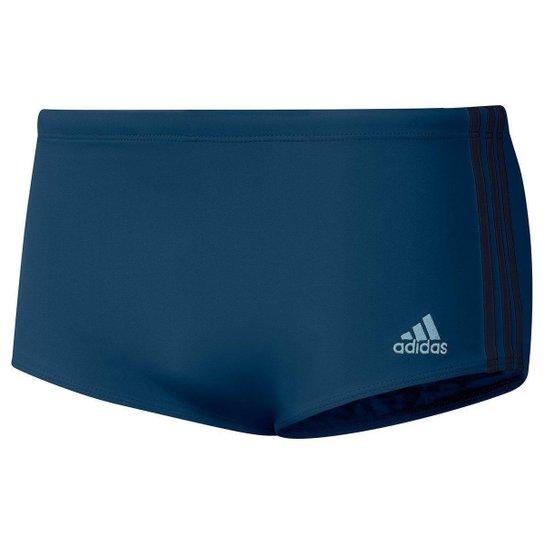 Sunga Adidas ColorBlock Wide - Azul Petróleo