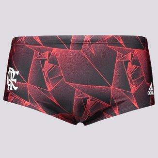 Sunga Adidas Flamengo Swimm Vermelha e Preta