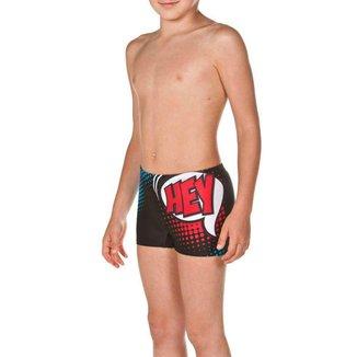 Sunga Box Infantil Arena Maxfit Hey Jr