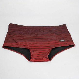 Sunga Calvin Klein Swimwear Degradê Vermelha