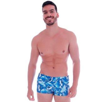 Sunga Cecí Moda Praia Boxer Masculina