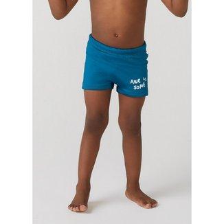 Sunga Com Proteção Solar Em Tecido Com Elastano Boxer Toddler Masculino