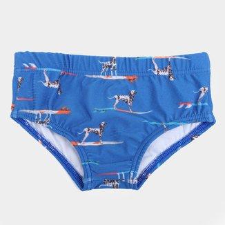 Sunga Infantil Kamylus Aquatic Proteção UV 50+