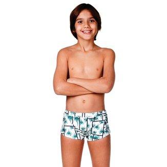 Sunga infantil modelo boxer GG