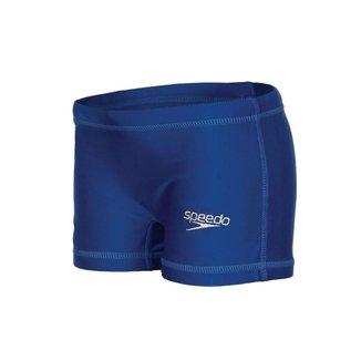Sunga Infantil Speedo Hidroshort Solid Azul Marin