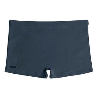 Sunga Mash Boxer Adulto Lisa Plus Size 300.05
