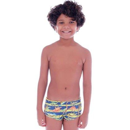 Sunga Slim Infantil Listra Dinossauro - Cecí