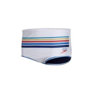 Sunga Speedo 019675 Tradicional Vintage Branco - GG