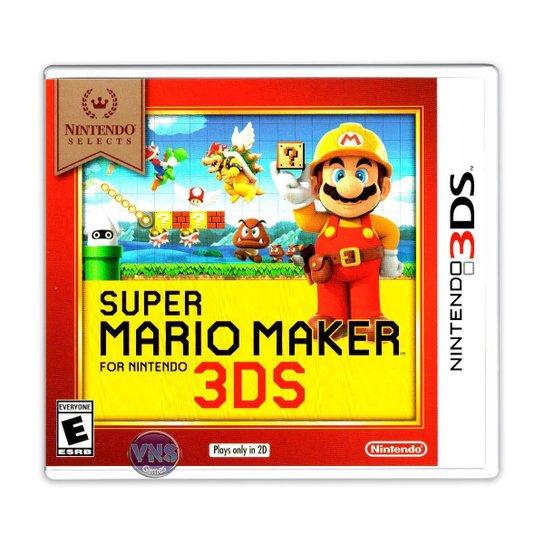 Super Mario Maker (Nintendo Selects) - 3DS - Incolor
