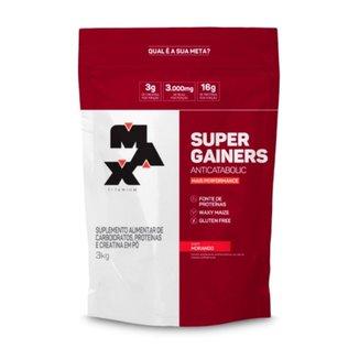 Super Mass Gainer 3kg Max Titanium