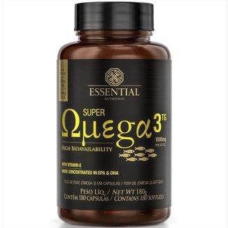 Super Omega 3 Tg  180Caps  Essential Nutrition