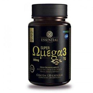 Super Ômega 3 Tg - Essential Nutrition 120 Cápsulas (500Mg)