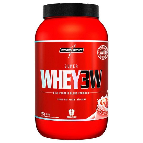 Super Whey 3W - 907 g Body Size - IntegralMédica -