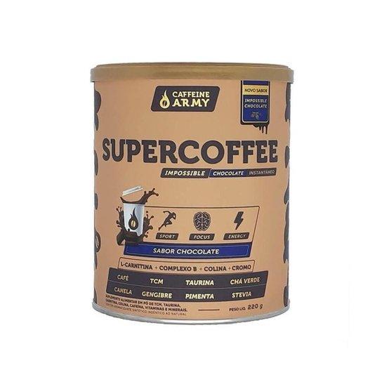 Supercoffee 2.0 220g Chocolate - Super Coffee Caffeine Army -