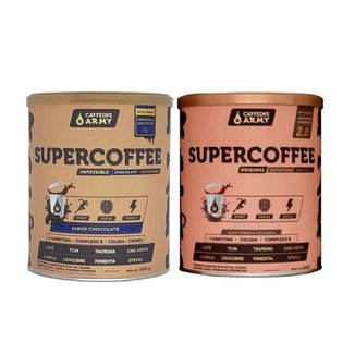 Supercoffee 2.0 220g e Supercoffee Chocolate 220g