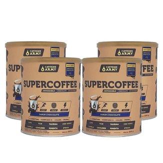 Supercoffee Chocolate 220g - Caffeinearmy 4 Un