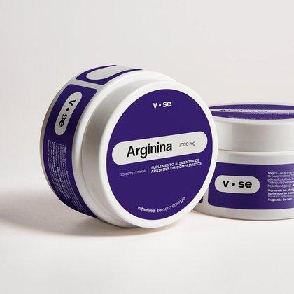 Suplemento Alimentar De Arginina Em Comprimidos Vitamine-se