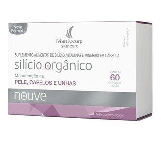 Suplemento Alimentar de Silício Mantecorp Skincare 60 Caps