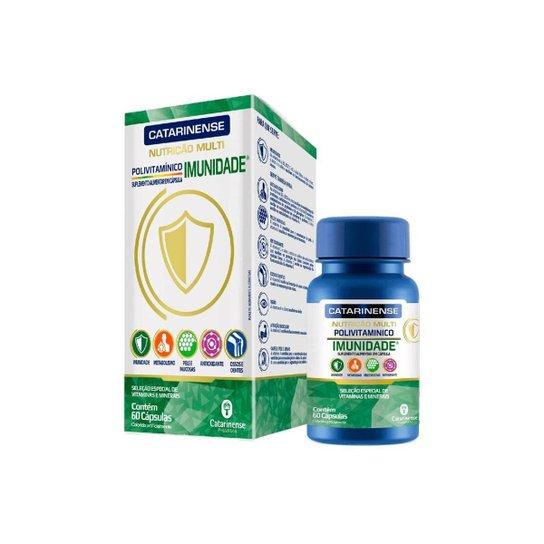 Suplemento Imunidade 60 cápsulas Catarinense - Verde+Branco