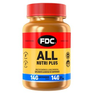Suplemento Polivitamínico FDC – All Nutri Plus 140 Caps