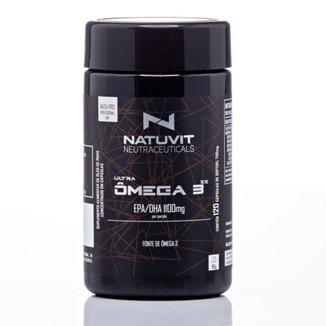 Suplemento Ultra Ômega 3 EPA/DHA 1100 mg 120 Cápsulas 500mg