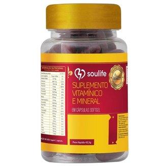 Suplemento Vitamínico e Mineral  - 30 Cáps - Soulife