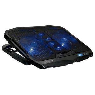 Suporte para Notebook C3 Tech - até 17.3 - com LED - 5 Ajustes de Altura - 2 portas USB - NBC-100BK