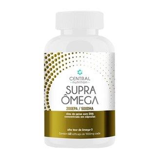 Supra Ômega 200Epa/500Dha 60 Cápsulas - Central Nutrition