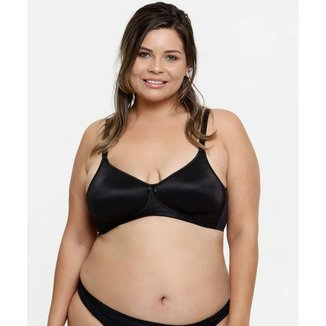Sutiã Feminino Redutor Listrado Plus Size DelRio - 10021827099