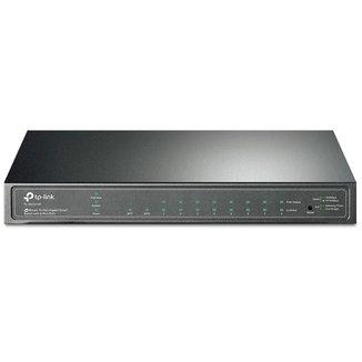 Switch TP-Link TL-SG2210P - 8 Portas Gigabit PoE - 2 Portas SFP - Switch Gerenciável L2+ - JetStream