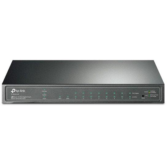 Switch TP-Link TL-SG2210P - 8 Portas Gigabit PoE - 2 Portas SFP - Switch Gerenciável L2+ - JetStream - Única