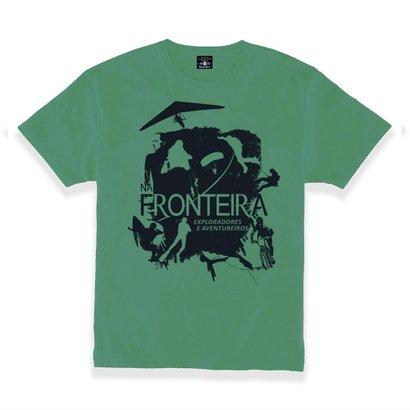 T-Shirt Gola Careca Exploradores E Aventureiros