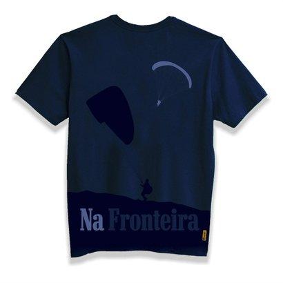 T-Shirt Gola Careca Parapente Na Fronteira