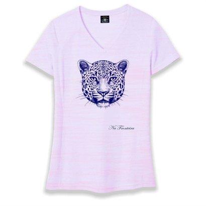T-Shirt Gola V Feminina Onça – Na Fronteira