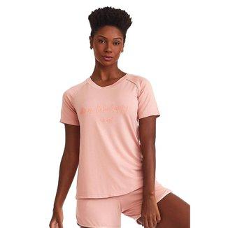 T-Shirt Happy Rosê P CAJUBRASIL