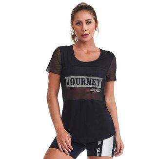 T-Shirt Journey Preta P CAJUBRASIL