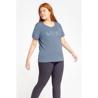 T-Shirt Live Holographic Plus Size