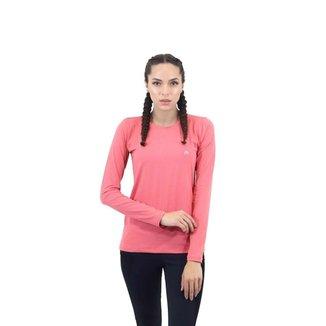 T-SHIRT MANGA LONGA Feminina Academia Verão FIT ROOM fitness Treino Corrida Caminhada Esporte