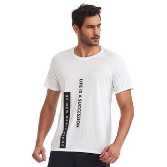 T-Shirt Masculina New Branca G CAJUBRASIL