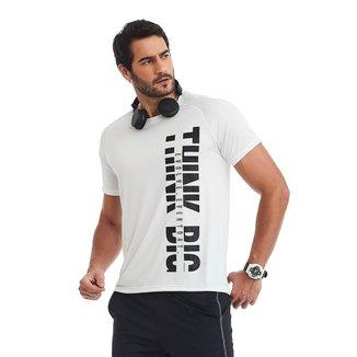 T-Shirt Masculina Think Big  CAJUBRASIL masculino