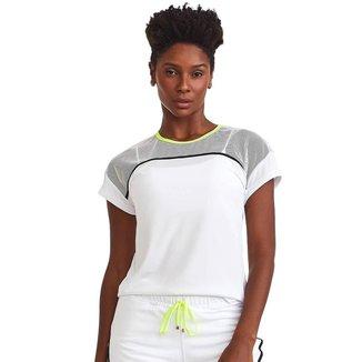 T-Shirt Neon Branca P CAJUBRASIL